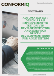 thumbnail of Whitepaper on Automated Test Design for Agile testing